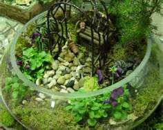 Terrariums Are Tiny Landscapes In Glass Containers Of Any Kind. They Can Be  Just A Woodland Setting Or A Elusive Fairy Garden Home.
