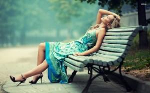 16369-girl-resting-on-a-bench-1920x1200-girl-wallpaper